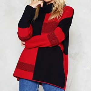 Nasty Gal Oversized Sweater